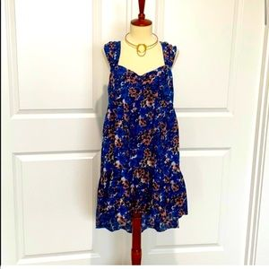Free People Floral Tiered Boho Sun Dress